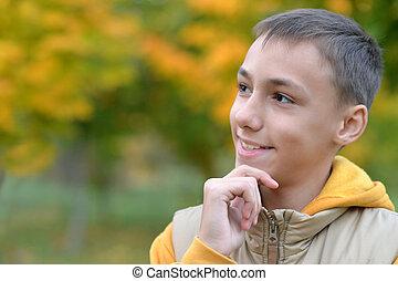 肖像画, ティーンエージャーの少年