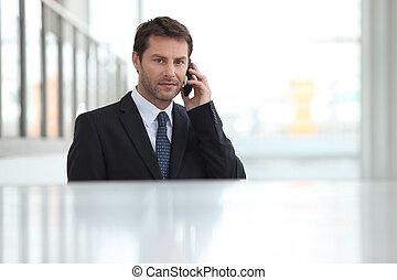 肖像画, ビジネスマン