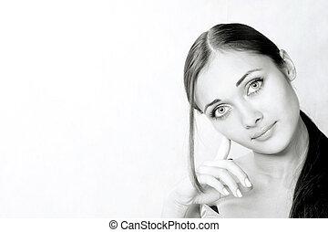 肖像画, 女の子