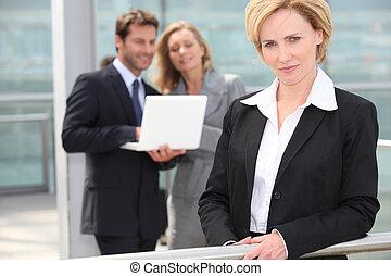 肖像画, 女性実業家