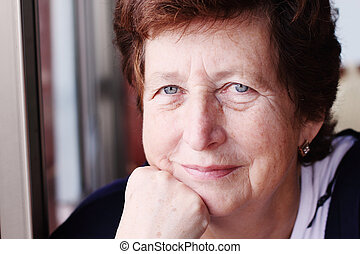 肖像画, 年長の 女性
