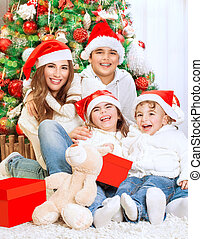 肖像画, 幸せな家族