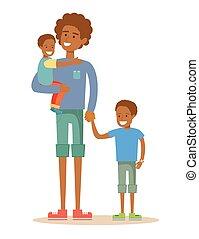 肖像画, 息子, 彼の, 父, 2