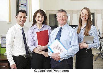 肖像画, 現代 ビジネス, オフィスの チーム