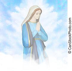 肖像画, 聖母マリア, 祝福された