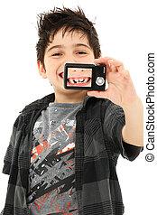 肖像画, 自己, 歯の逃すこと