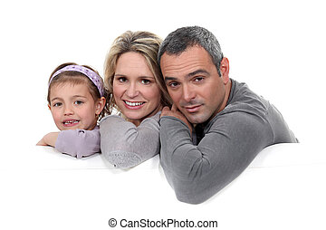 肖像画, 親, 子供