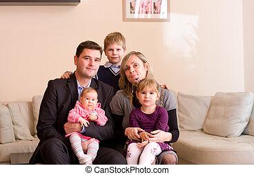 肖像画, familiy