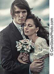 肖像, 夫婦, 婚禮