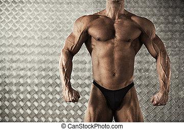 肖像, ......的, 肌肉, 車身制造者