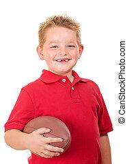 肖像, 足球, 孩子