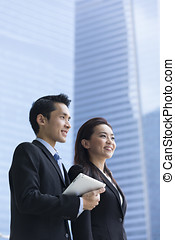 肖像, partners., 亚洲的商业