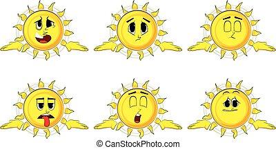 肩, ∥そうする∥, 太陽, gesture., 知りなさい, 表現, すくめる, 漫画