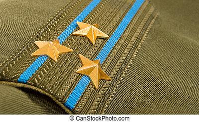 肩, 軍隊, 大佐, 空輸, 革ひも, ロシア人