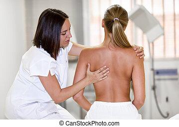 肩, center., 医学, 物理療法, 点検