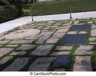 肯尼迪, 公墓, arlington, 2004, 墳墓