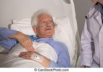 肺, 病人, 癌症