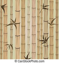 背景, の, 竹