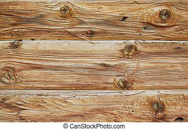 背景, の, 荒い, 木製の板