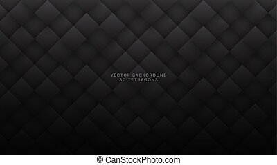 背景, ひし形, 技術的である, 3d, 抽象的, 灰色, 暗い, ベクトル