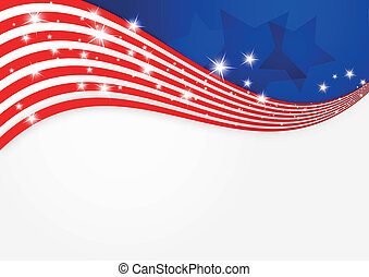 背景, アメリカの旗