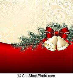 背景, クリスマス