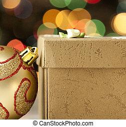 背景, クリスマス, 型