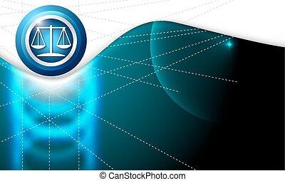 背景, シンボル, ベクトル, 弁護士, 白, 抽象的
