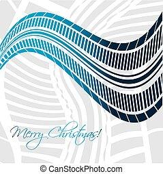 背景, デザイン, クリスマス, タイヤ