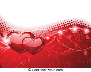 背景, バレンタイン