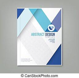 背景, ビジネス, ポスター, 抽象的, 年報, カバー, レポート, フライヤ, デザイン, テンプレート, パンフレット, 線, 本