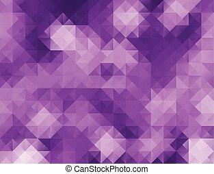 背景, ブロック, テンプレート, モザイク, 紫色, 創造的, ビジネス, デザイン