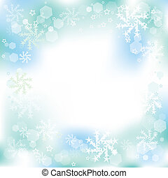 背景, ベクトル, 冬, クリスマス
