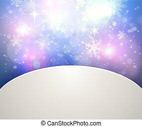 背景, 抽象的, クリスマス