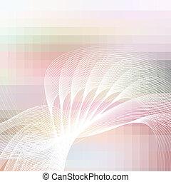 背景, 抽象的, ベクトル