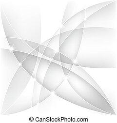 背景, 抽象的, ベクトル, 銀