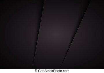 背景, 抽象的, ベクトル, 黒, イラスト