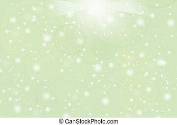 背景, 抽象的, 明るい緑