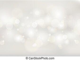 背景, 抽象的, 白, ぼんやりさせられた, bokeh, lights., 柔らかい