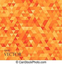 背景, 抽象的, 白, 現代, 三角形