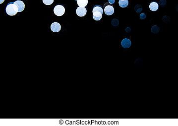 背景, 抽象的, 黒, バックグラウンド。, 青, bokeh