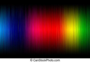 背景, 摘要, 光譜, 發光