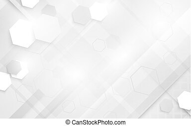 概念 摘要 灰色 Hi的技术 背景 数字的设计 几何学 技术 白色 未来 Canstock