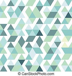 背景, 摘要, 藍色, 明亮, 三角形