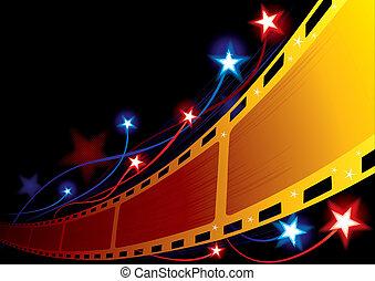 背景, 映画館