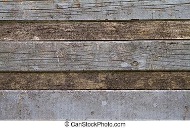 背景, 木制