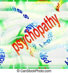 背景, 概念, psychopathy