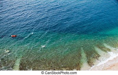 背景, 海洋