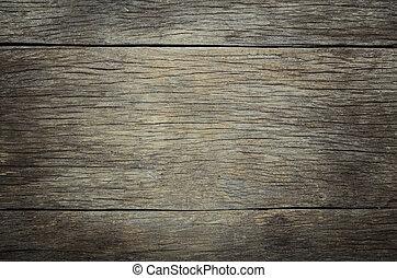背景, ......的, 老, 木頭