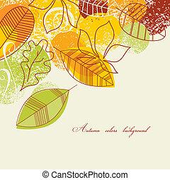 背景, 秋季